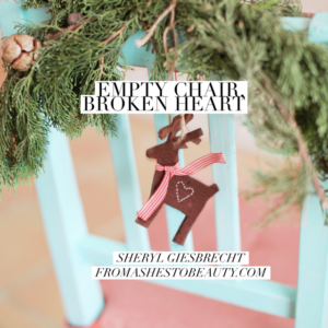 Empty Chair, Broken Heart – Grieving and Getting Through the Holidays