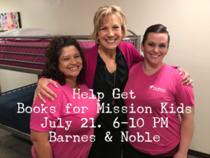 Help Get Books for Mission Kids – Sat 7-21 – Barnes & Noble