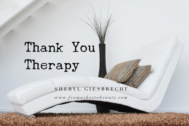 You are currently viewing Thank You Therapy