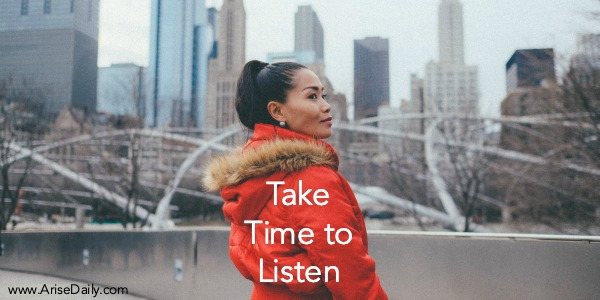 You are currently viewing Take Time to Listen